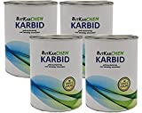 ButKarCHEM 2 Kg Karbit (Kabit Kabitt karbitt Karbit Karbid Steine) nur 3% Staubanteil lang anhaltendes Gas (Karbid Lab Nr626398998)(24h Sofort - Versand) (2 Kg)
