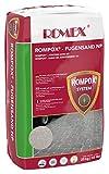 ROMEX Fugensand NP 25kg Sack, Farbe Steingrau - Der feste Fugensand gegen Unkraut