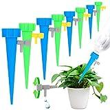 Litthing Automatisch Bewässerungssystem, 12 Pcs Automatisch Bewässerung Set Instellbar Einfaches Zum Gießen von Gartenpflanzen Blumen Bewässerung Zimmerpflanzen Pflanzen Bewässerung Urlaub