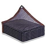 Perfektes Schattiernetz im Freien,50% Shading Rate,Sonnenschutznetz,Einfacher Aufzuhängender Beschattungsnetz für Patio Backyard Garden Carport,Größe Kann Anpassbar Sein (3x3m)