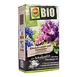 COMPO BIO Rhododendron- und Hortensiendünger für alle Rhododendren und andere Morbeetpflanzen, 5 Monate Langzeitwirkung, 2 kg