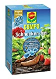 COMPO Schnecken-frei, Streugranulat gegen Schnecken im Vorteilspack, 4x225 g (4x450 m²)
