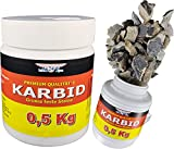 bri'X24T'you® KARBID 0,500KG KARBID(1A.Ql.Rg.260619)*UNERREICHT in QUALITÄT & WIRKUNGsDauer*Feste große Steine mit Langzeitwirkung (0,500KG)