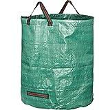 GardenMate 1x 272l Gartensack Laubsack Abfallsack für Gartenabfälle Rasenschnitt Säcke für den Garten faltbar aus robustem Polypropylen-Gewebe (PP) 150gsm