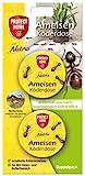 PROTECT HOME Natria Ameisen Köderdose (ehem. Bayer Garten), Ameisenköder aus nachwachsenden Rohstoffen, 2 Stück
