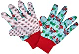 moses 16065 Gartenhandschuhe für Kinder, Mehrfarbig, 2 Stück (1er Pack)