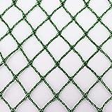 Aquagart® Teichnetz, 8m x 6m, dunkelgrün, engmaschig: Maschenweite 15mm x 15mm, Laubnetz, Teichabdecknetz, Vogelabwehrnetz, Reihernetz robust
