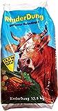 Rinderdung 25kg Rind Rinderkacke Kuhmist Scheiße Rinderscheiße Mist Dünger