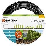 Gardena Start Set Pflanzreihen L: Micro-Drip-Gartenbewässerungssystem zur schonenden, wassersparenden Bewässerung von Reihenpflanzungen (13013-20)