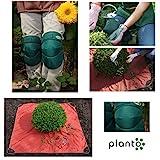 Buchsbaum Formschnitttuch + Komfort Knieschoner | Allzweck-Unterlage | Pflanzmatte | Knieunterlage | Knieschützer | Kniepolster | Knieschutz