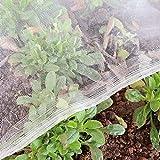 Gemüseschutznetz Gemüsenetz 1.2×5m Insektenschutznetz Pflanzenschutznetz Insektennetz Feinmaschig Kulturschutznetz Käfer Mücke Fliege Vogelnetz Blumen Schutznetz für Garten