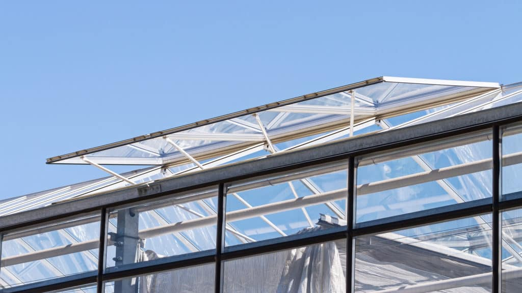 Automatischer Fensteröffner für das Gewächshaus