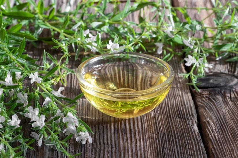 Bergbohnenkraut-Öl