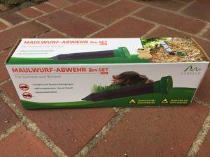 WühlmausschreckSpitzmäuse Maulwurf-Stop Batterie Wühlmausstop Vertreiber Stab