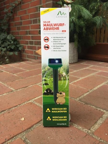 Gardigo Solar Maulwurf-Abwehr mini Maulwurfschreck