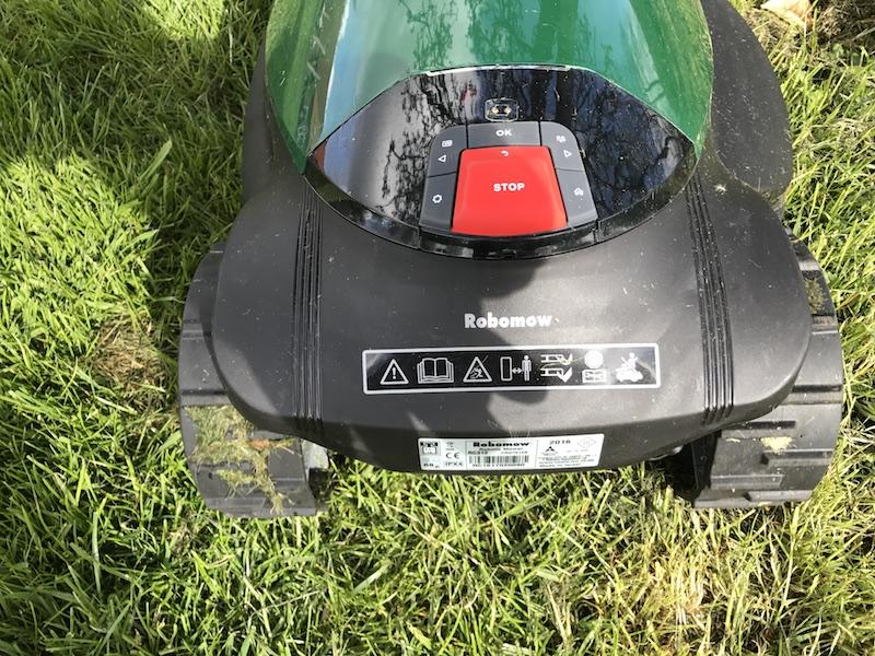 Robomow RC312 Mulchmäher Rasenmähroboter im Test 6