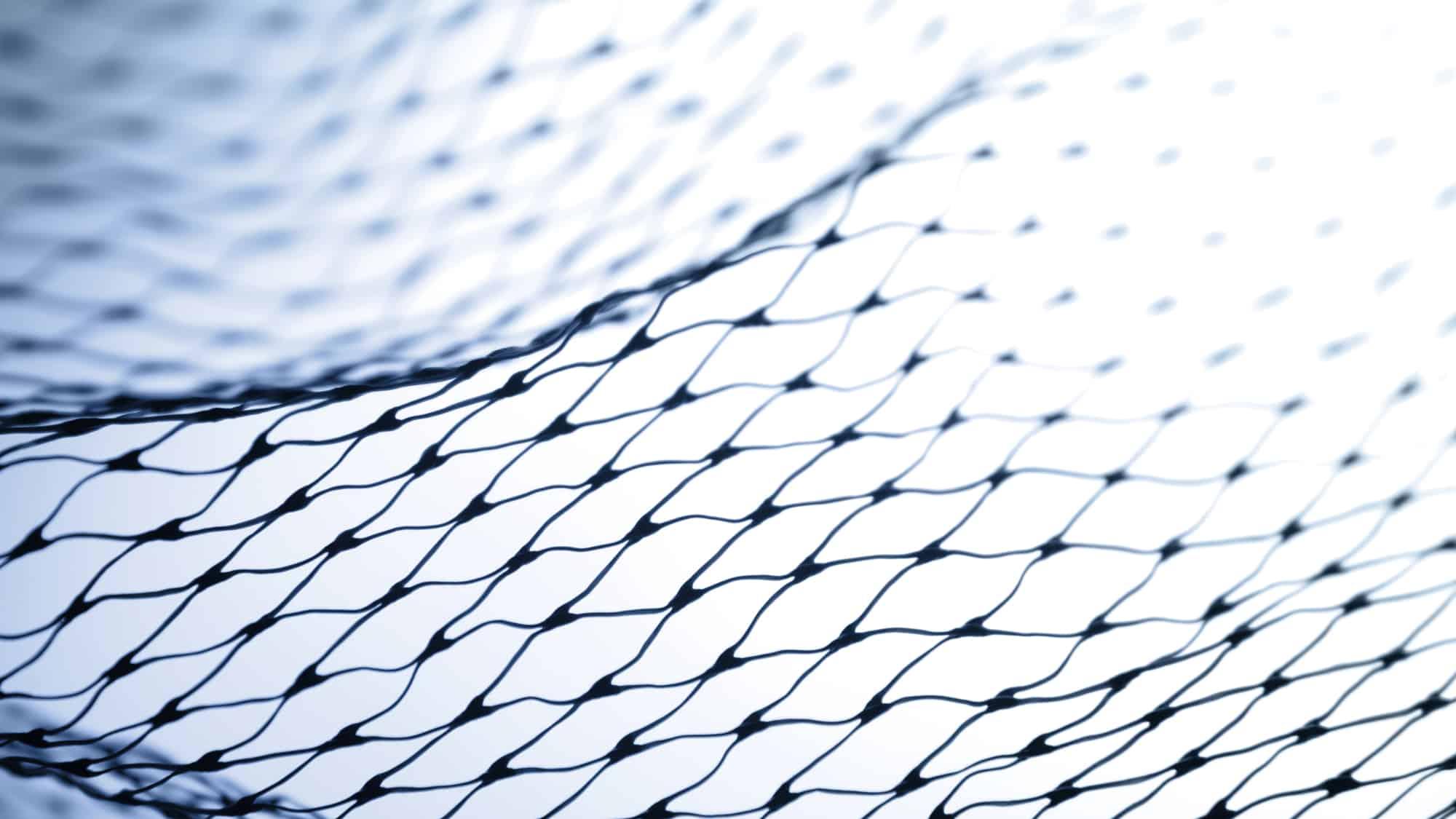 15m x 8m Aquagart Teichnetz Laubnetz engmaschig: Maschenweite 15mm x 15mm dunkelgr/ün Teichabdecknetz Vogelabwehrnetz Reihernetz robust