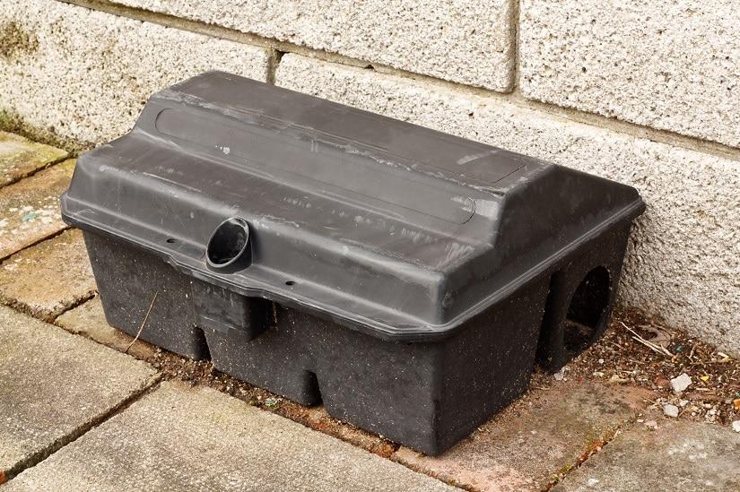 Köderbox für Mäusegift