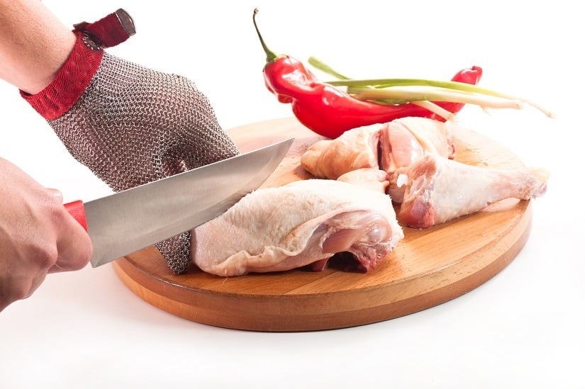 Kettenhandschuh für die Küche