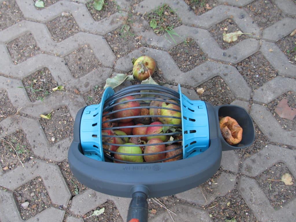 Gardena Rollsammler für Äpfel