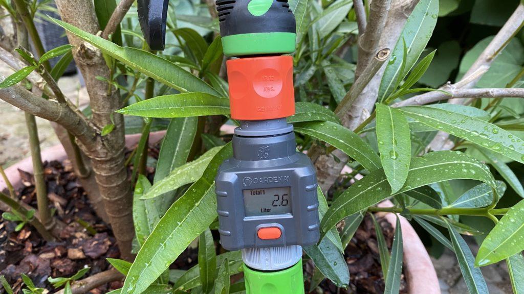 Gardena Wassermengenzähler