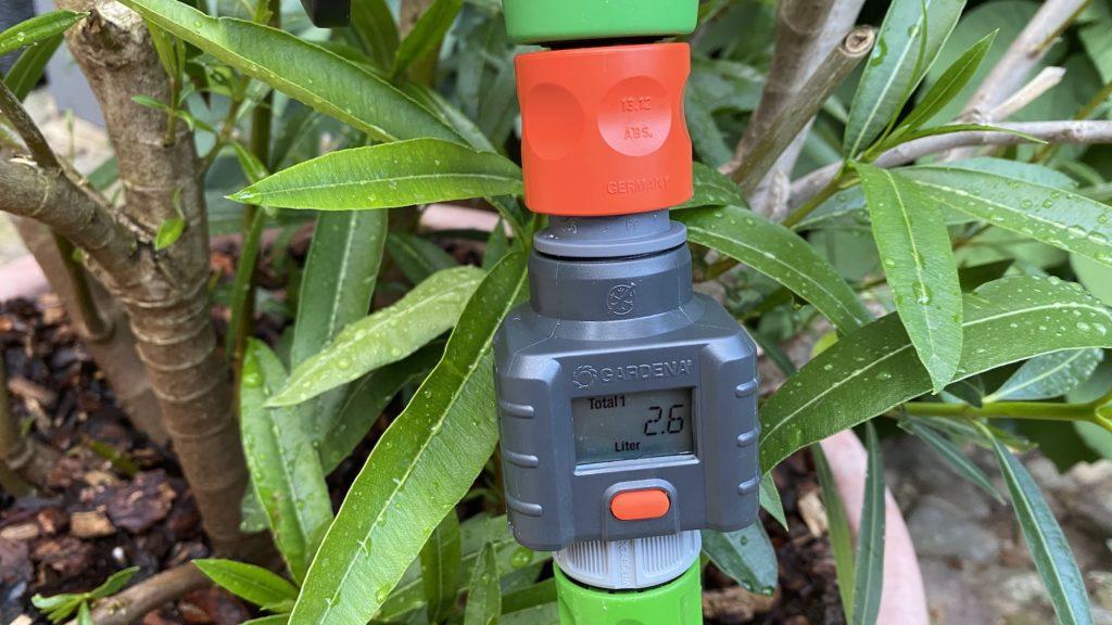 Gardena Wassermengenzähler im Test