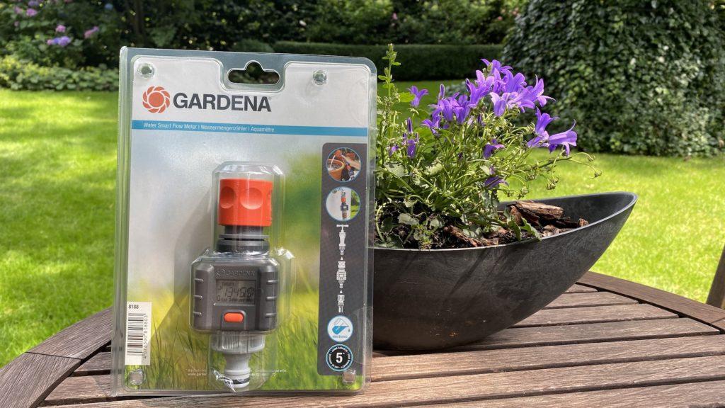 Gardena Wassermengenzähler verpackt