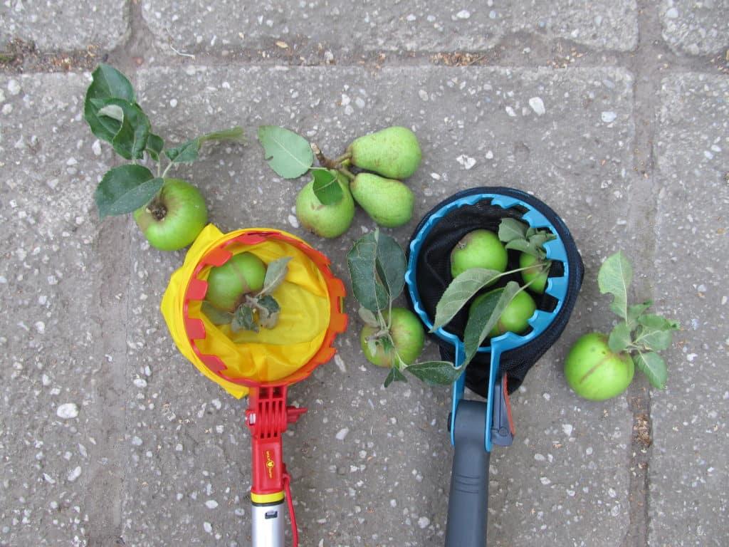Gardena combisystem und Wolf-Garten multi-star Obstpflücker