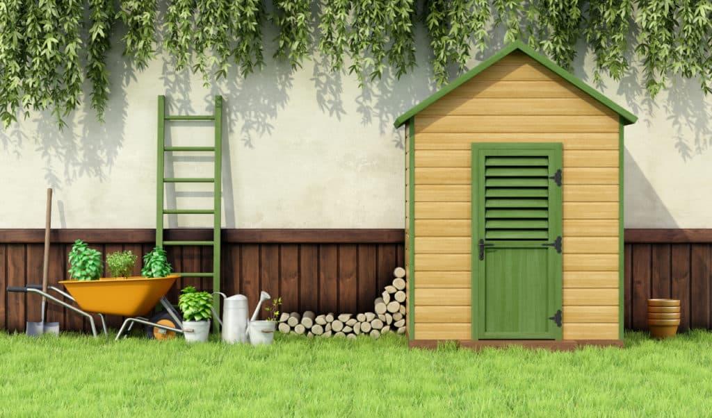 Gartengerätehaus