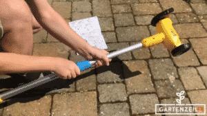 Der Gloria Weedbrush speedcontrol im Test
