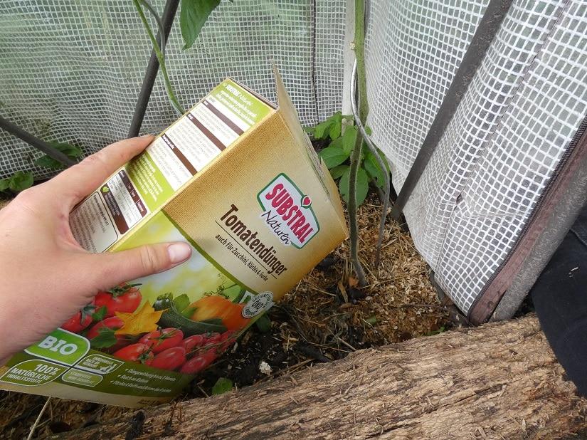 Tomatendünger als Lösung des Problems? Lieber nicht!