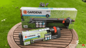 Viereckregner AquaZoom M vs. Aqua M von Gardena im Vergleich