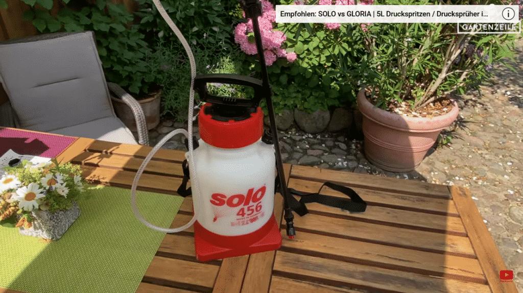 Druckspritze SOLO 456 im Test